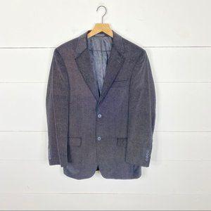Assets Andrew Fezza Velvet Blazer Size 36R